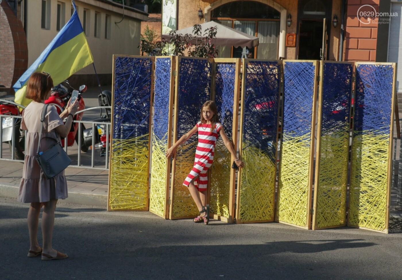 «Відновлення незалежності!» Как Мариуполь отпраздновал 30-летие своей страны, - ФОТОРЕПОРТАЖ, фото-12