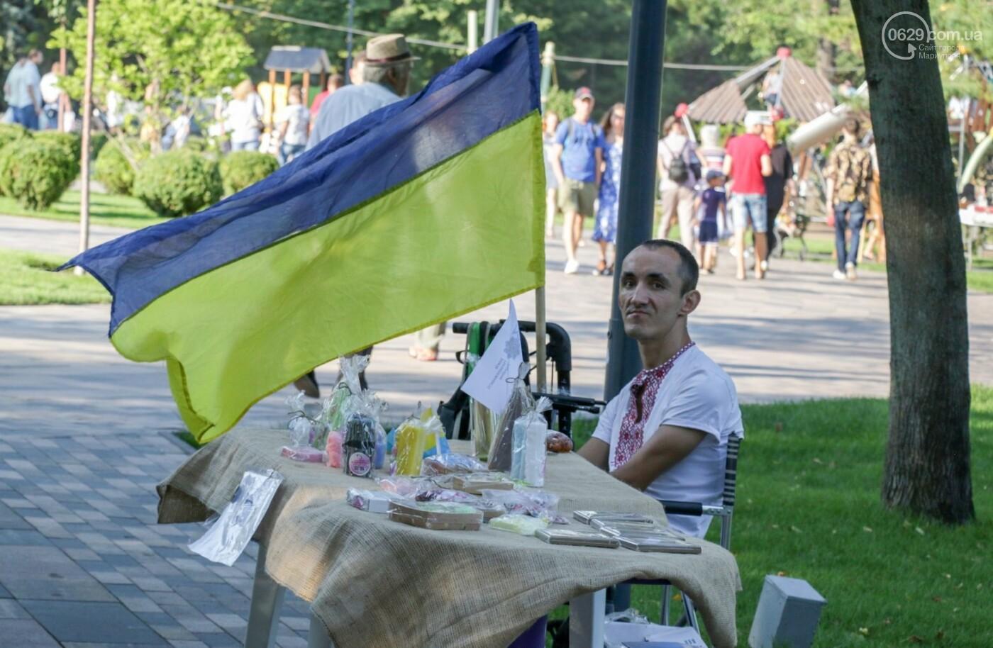 «Відновлення незалежності!» Как Мариуполь отпраздновал 30-летие своей страны, - ФОТОРЕПОРТАЖ, фото-28