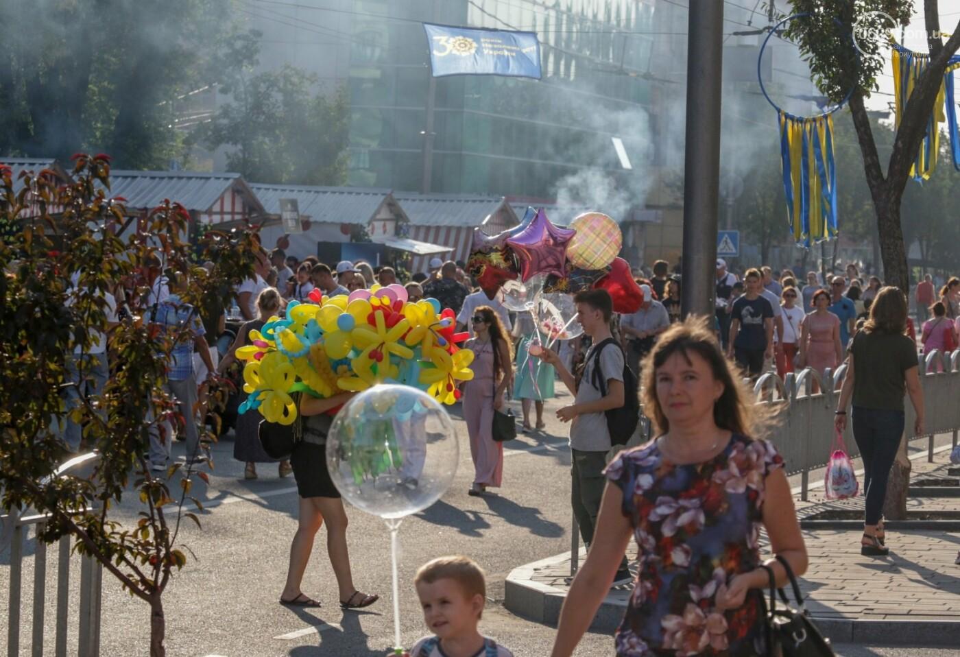 «Відновлення незалежності!» Как Мариуполь отпраздновал 30-летие своей страны, - ФОТОРЕПОРТАЖ, фото-41