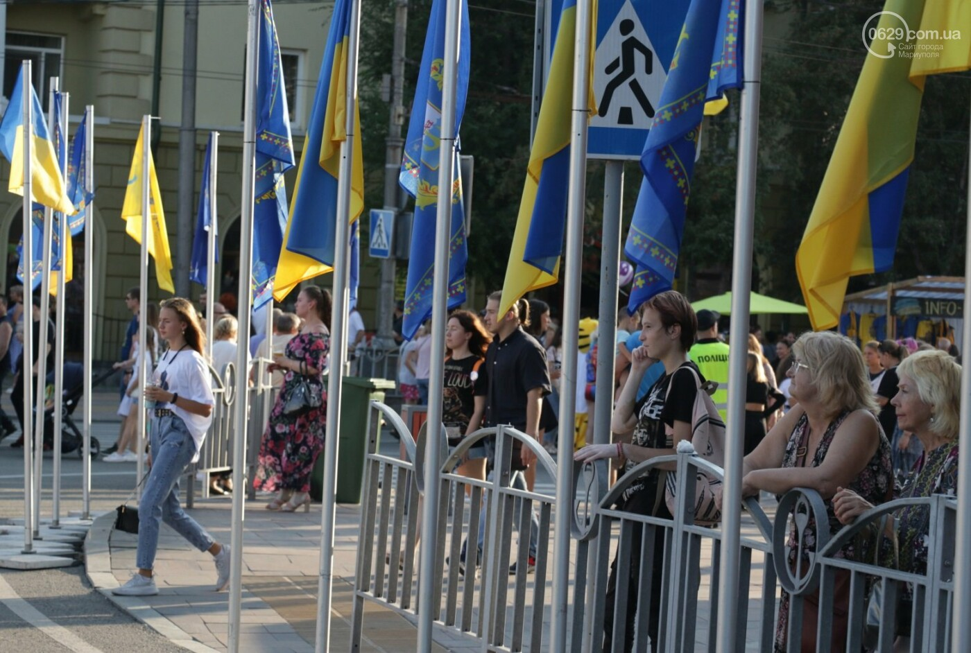 «Відновлення незалежності!» Как Мариуполь отпраздновал 30-летие своей страны, - ФОТОРЕПОРТАЖ, фото-46