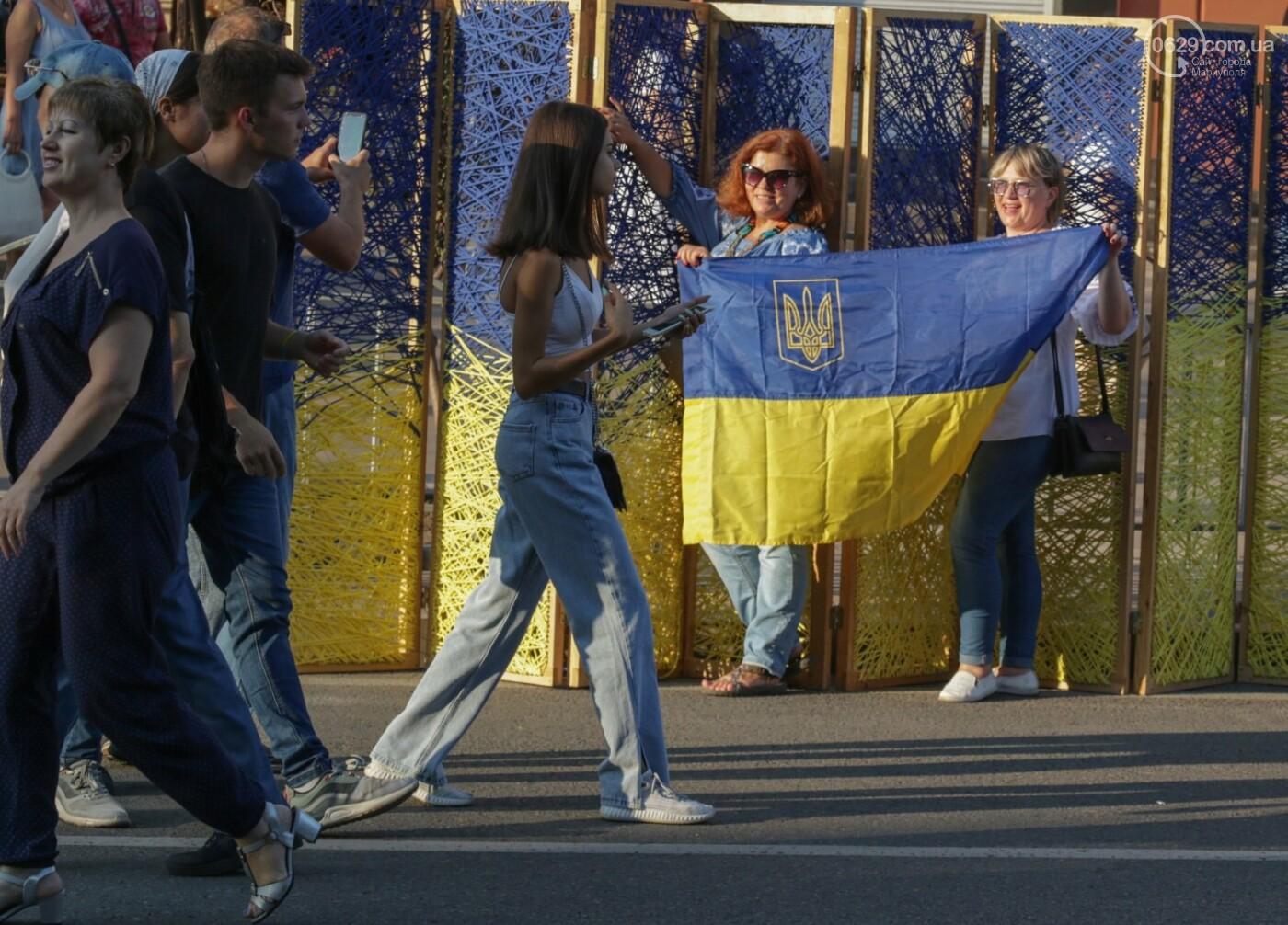 «Відновлення незалежності!» Как Мариуполь отпраздновал 30-летие своей страны, - ФОТОРЕПОРТАЖ, фото-13