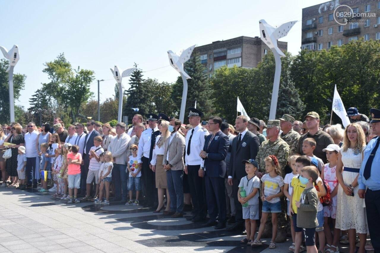 В Мариуполе провели необычный флешмоб ко Дню Независимости, - ФОТОРЕПОРТАЖ, ВИДЕО, фото-40