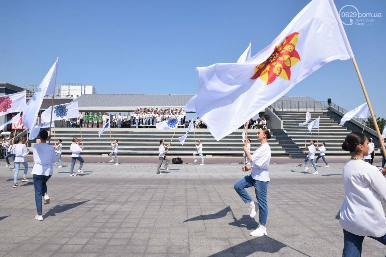 В Мариуполе провели необычный флешмоб ко Дню Независимости, - ФОТОРЕПОРТАЖ, ВИДЕО, фото-43