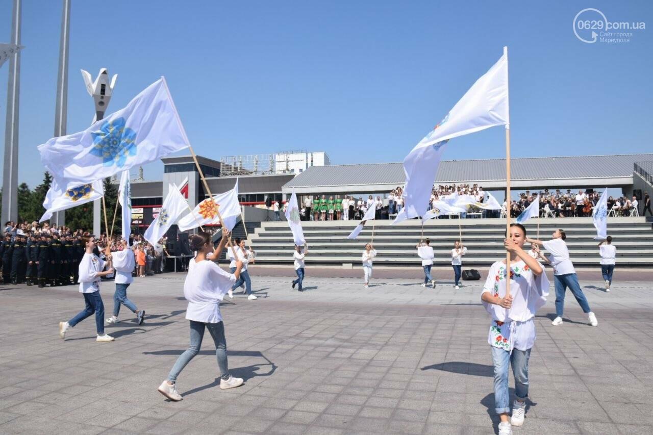 В Мариуполе провели необычный флешмоб ко Дню Независимости, - ФОТОРЕПОРТАЖ, ВИДЕО, фото-42