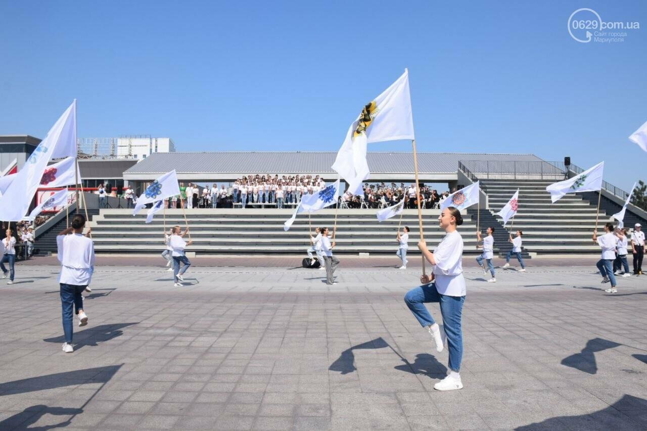 В Мариуполе провели необычный флешмоб ко Дню Независимости, - ФОТОРЕПОРТАЖ, ВИДЕО, фото-46