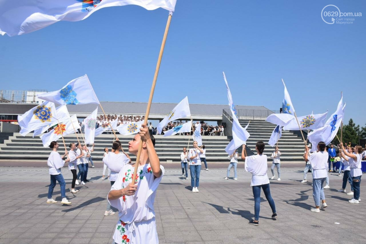 В Мариуполе провели необычный флешмоб ко Дню Независимости, - ФОТОРЕПОРТАЖ, ВИДЕО, фото-48