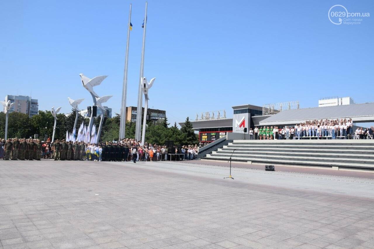 В Мариуполе провели необычный флешмоб ко Дню Независимости, - ФОТОРЕПОРТАЖ, ВИДЕО, фото-37