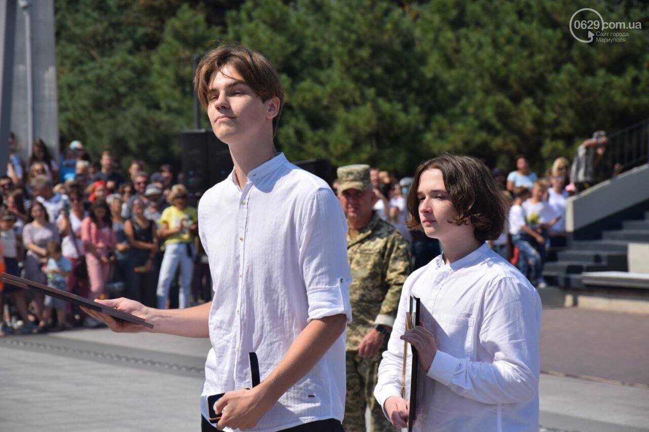 В Мариуполе провели необычный флешмоб ко Дню Независимости, - ФОТОРЕПОРТАЖ, ВИДЕО, фото-34