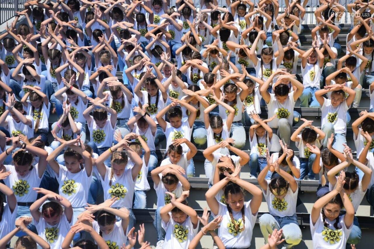 В Мариуполе провели необычный флешмоб ко Дню Независимости, - ФОТОРЕПОРТАЖ, ВИДЕО, фото-15