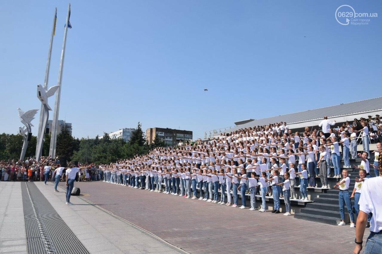 В Мариуполе провели необычный флешмоб ко Дню Независимости, - ФОТОРЕПОРТАЖ, ВИДЕО, фото-20