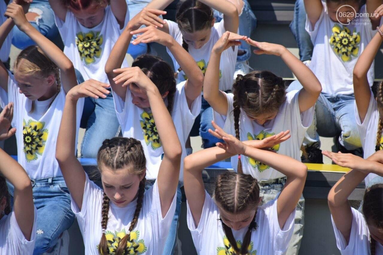 В Мариуполе провели необычный флешмоб ко Дню Независимости, - ФОТОРЕПОРТАЖ, ВИДЕО, фото-17