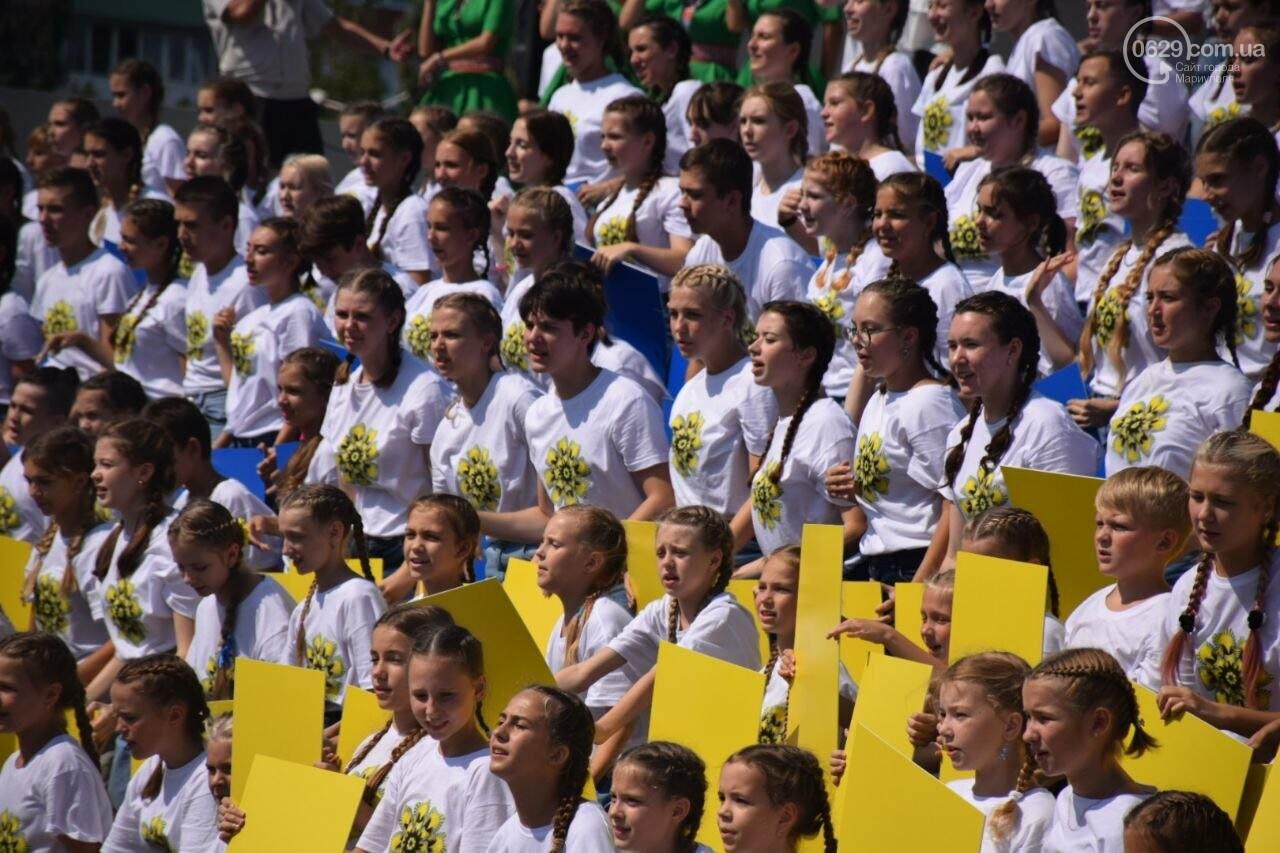 В Мариуполе провели необычный флешмоб ко Дню Независимости, - ФОТОРЕПОРТАЖ, ВИДЕО, фото-13