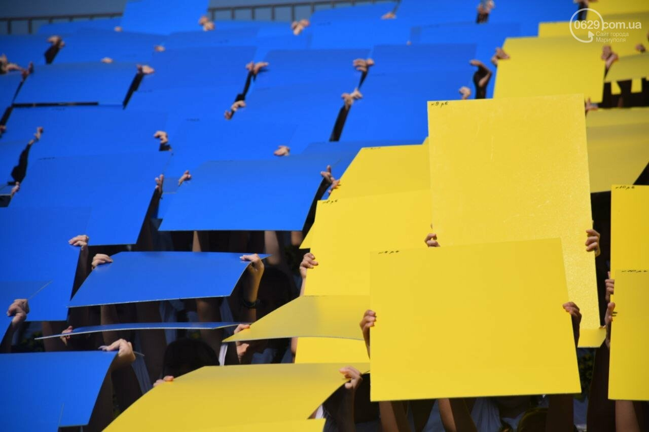 В Мариуполе провели необычный флешмоб ко Дню Независимости, - ФОТОРЕПОРТАЖ, ВИДЕО, фото-10