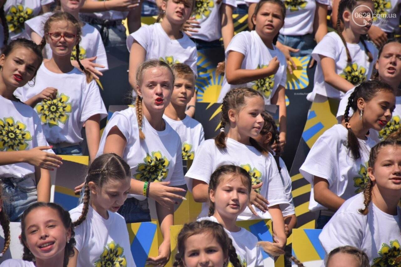 В Мариуполе провели необычный флешмоб ко Дню Независимости, - ФОТОРЕПОРТАЖ, ВИДЕО, фото-6