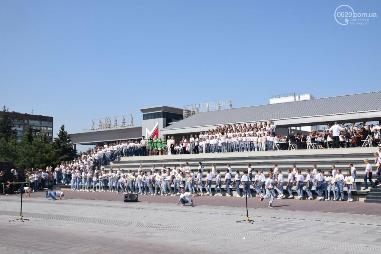 В Мариуполе провели необычный флешмоб ко Дню Независимости, - ФОТОРЕПОРТАЖ, ВИДЕО, фото-28