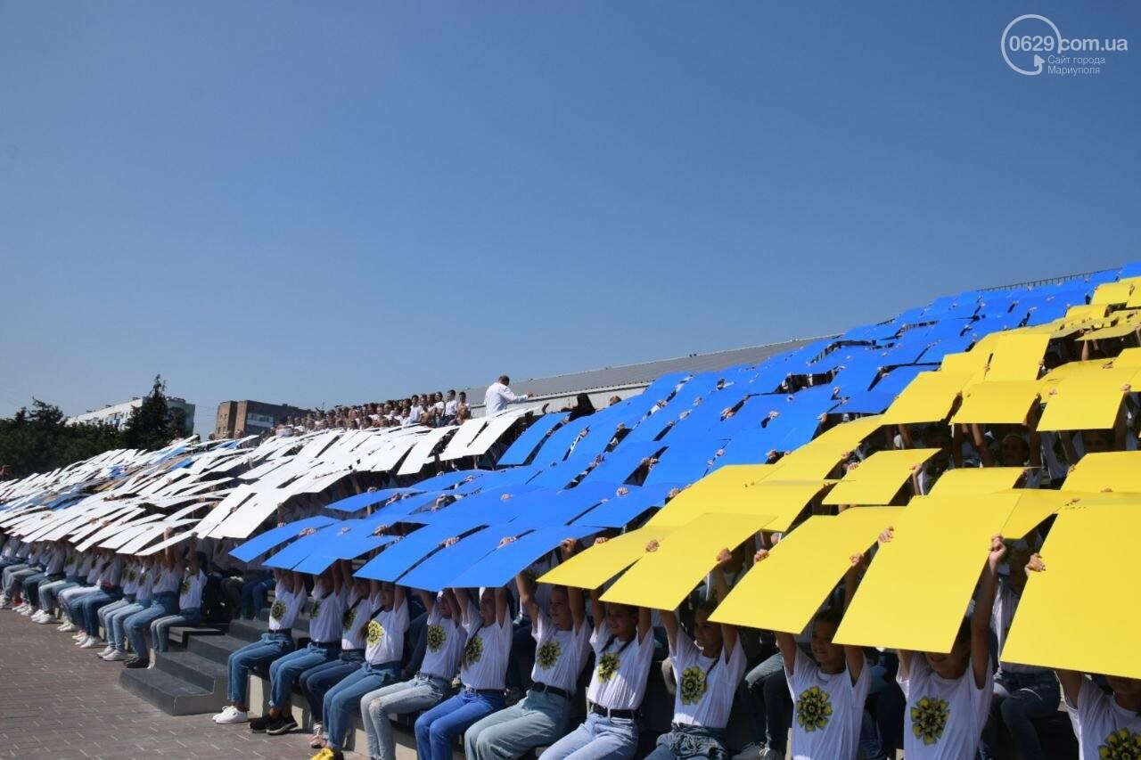 В Мариуполе провели необычный флешмоб ко Дню Независимости, - ФОТОРЕПОРТАЖ, ВИДЕО, фото-7