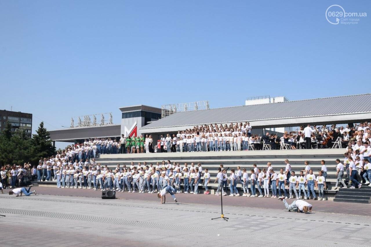В Мариуполе провели необычный флешмоб ко Дню Независимости, - ФОТОРЕПОРТАЖ, ВИДЕО, фото-27