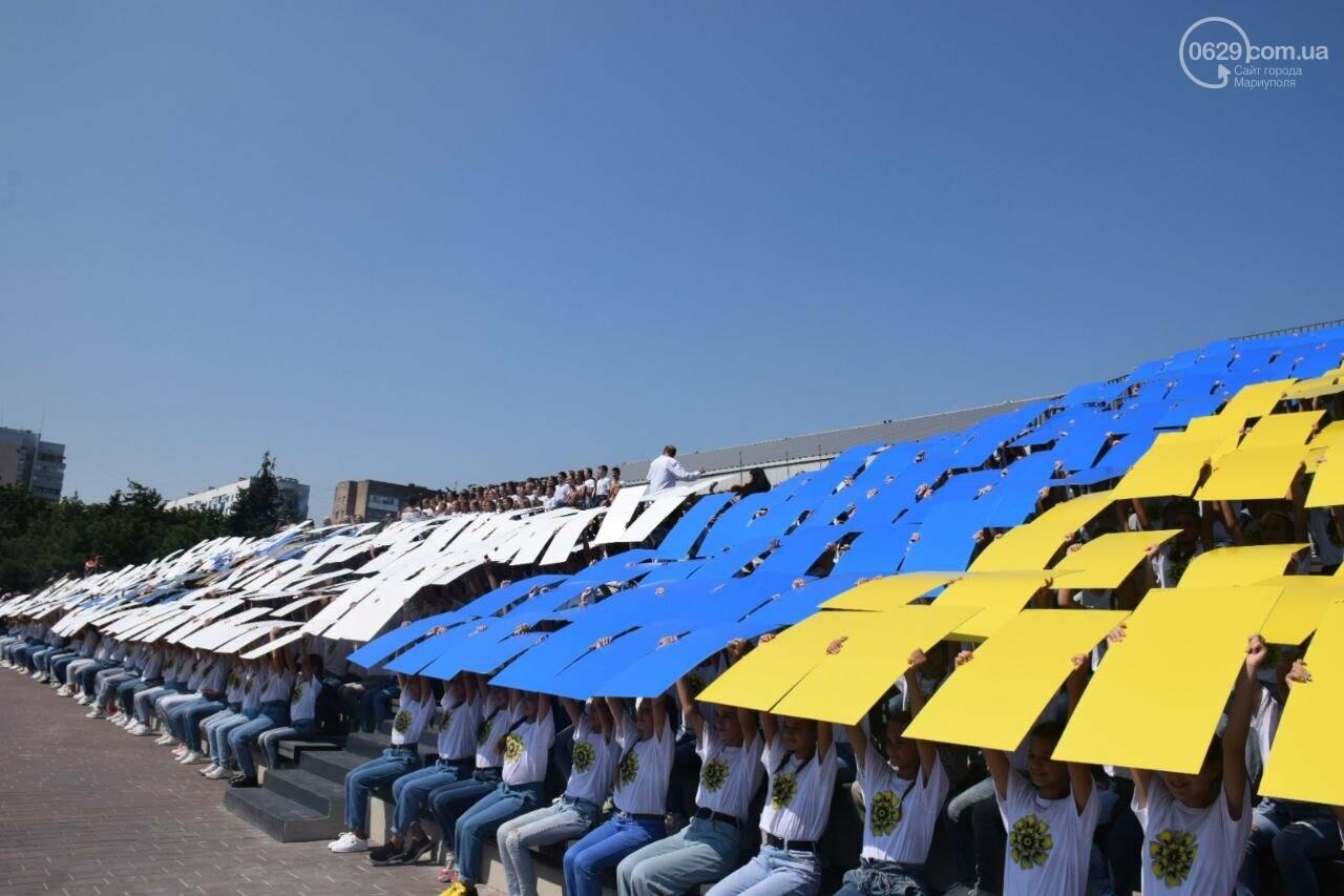 В Мариуполе провели необычный флешмоб ко Дню Независимости, - ФОТОРЕПОРТАЖ, ВИДЕО, фото-8
