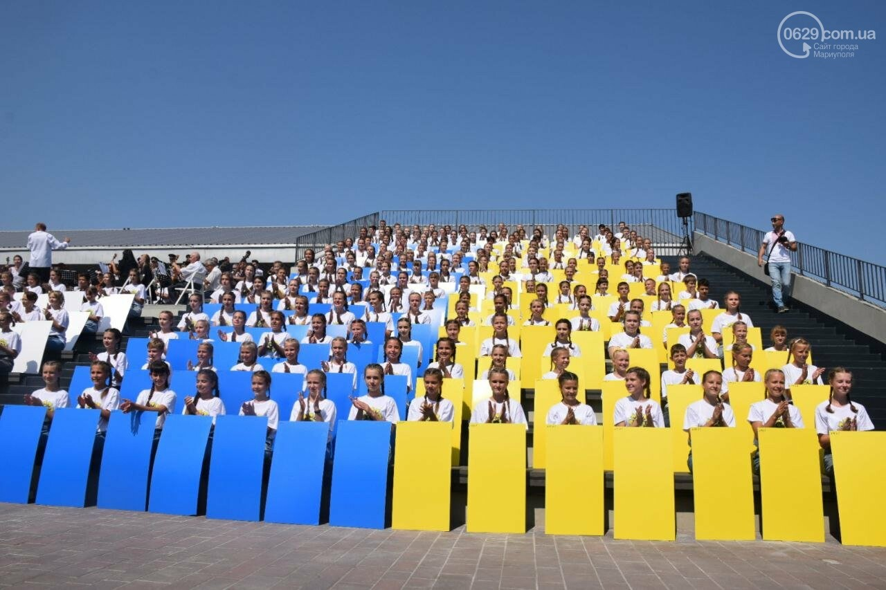 В Мариуполе провели необычный флешмоб ко Дню Независимости, - ФОТОРЕПОРТАЖ, ВИДЕО, фото-9