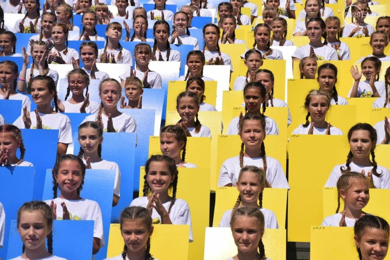В Мариуполе провели необычный флешмоб ко Дню Независимости, - ФОТОРЕПОРТАЖ, ВИДЕО, фото-4