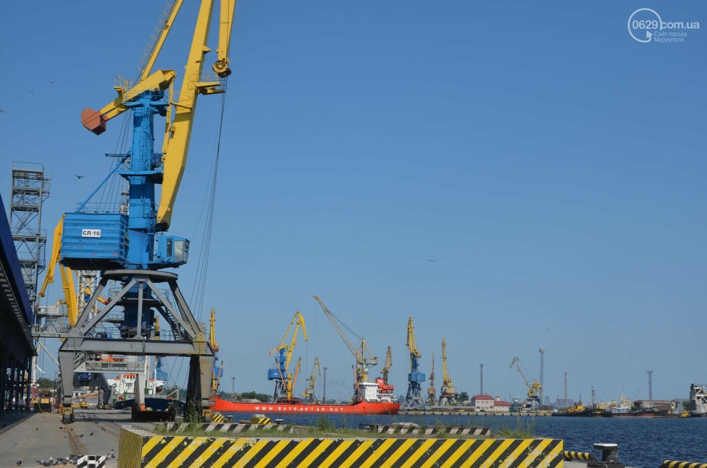 Почему Евросоюз отказался от инвестиций в Мариупольский порт, - ФОТОРЕПОРТАЖ , фото-2