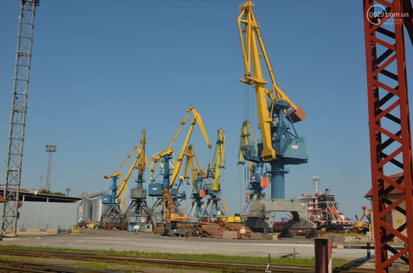 Почему Евросоюз отказался от инвестиций в Мариупольский порт, - ФОТОРЕПОРТАЖ , фото-1