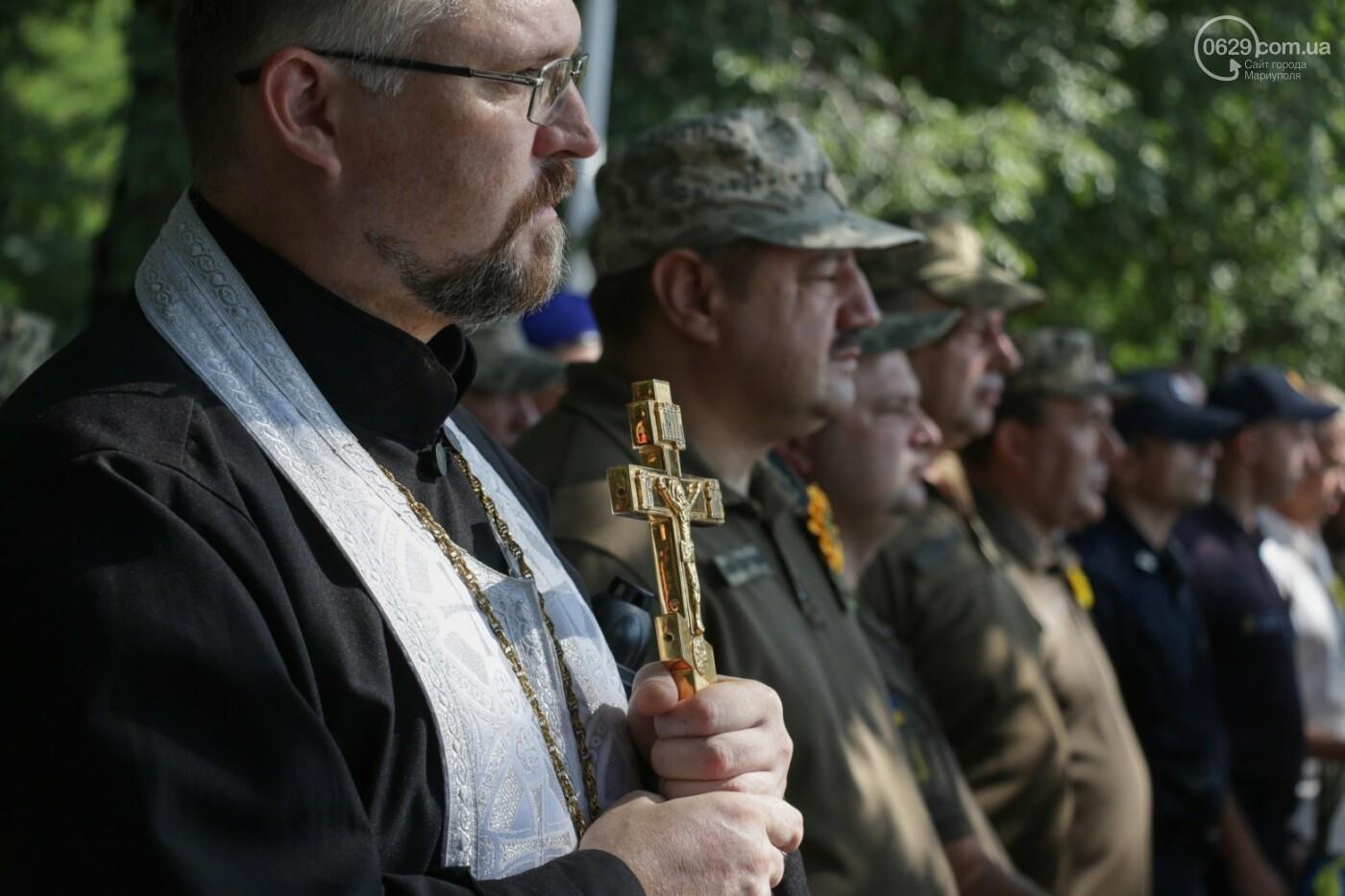 Общенациональная минута молчания. Как в Мариуполе почтили память защитников Украины, - ФОТОРЕПОРТАЖ, фото-22