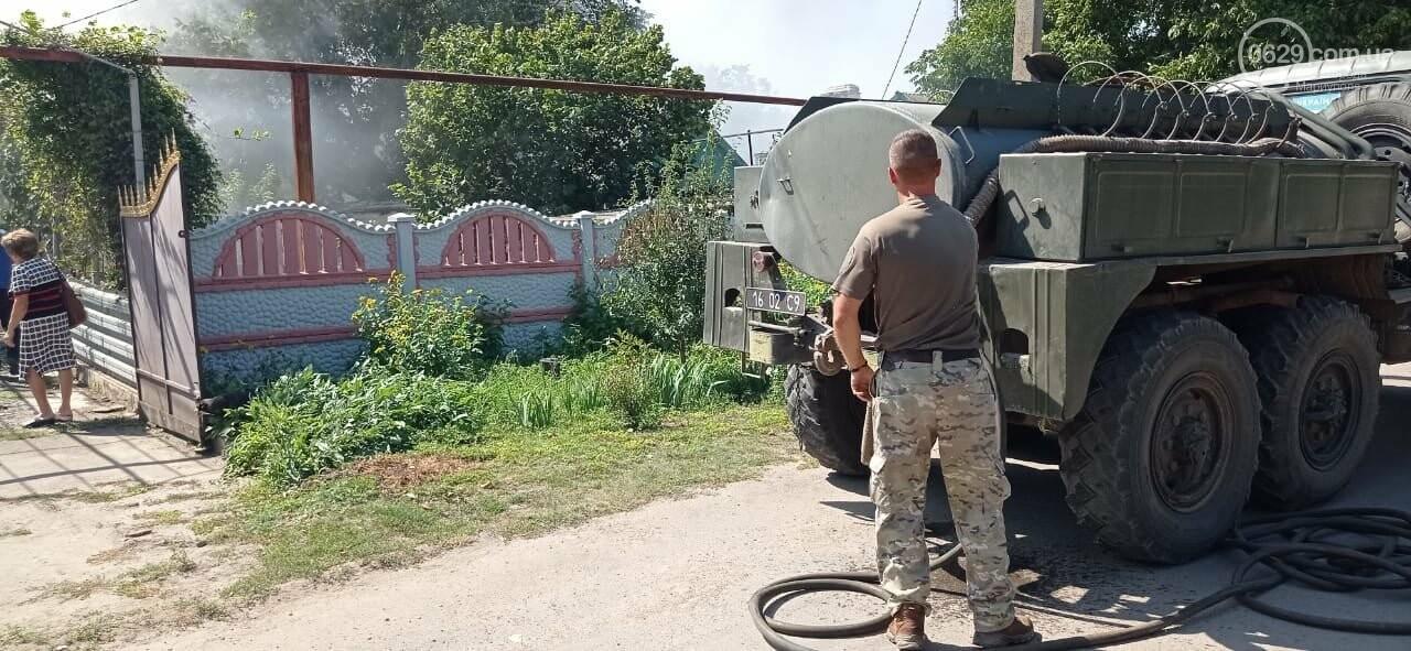 """""""Закарпатский легион"""" помог потушить пожар в Павлополе, - ФОТО, фото-3"""