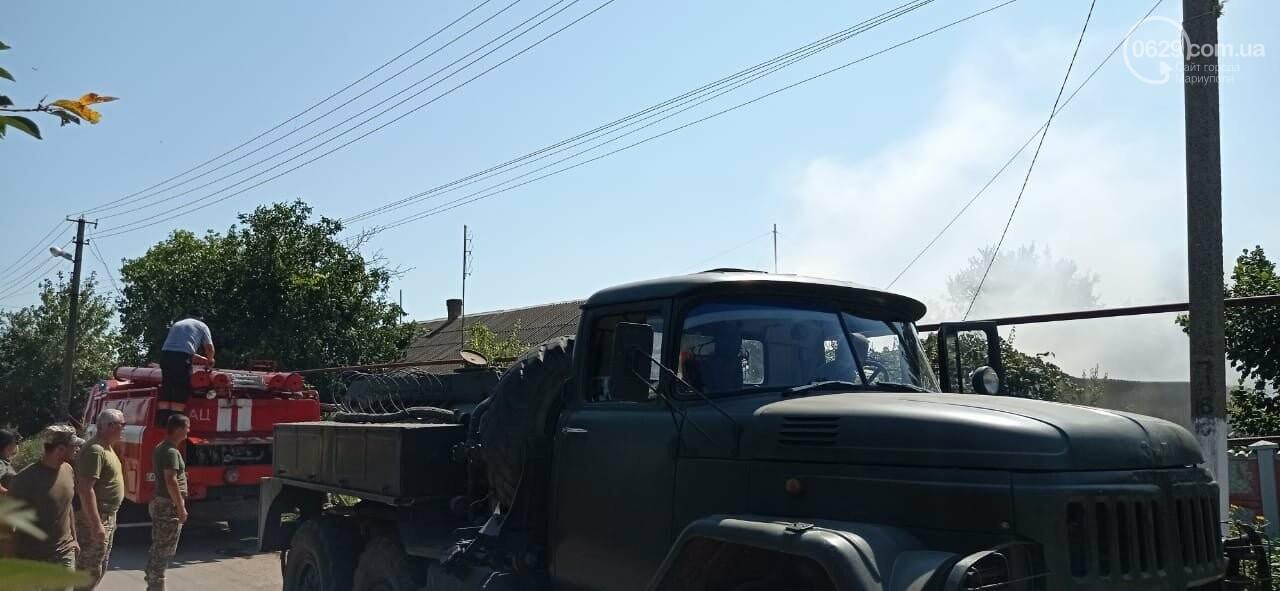 """""""Закарпатский легион"""" помог потушить пожар в Павлополе, - ФОТО, фото-4"""