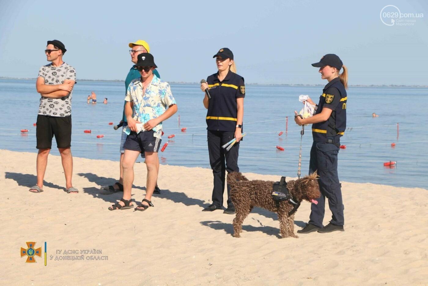 За лето на море в курортных поселках под Мариуполем спасли 6 человек, - ФОТО, фото-1