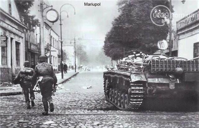 Как войска Гитлера захватили Мариуполь в 1941 году. Воспоминания оккупантов, - ФОТО, фото-2