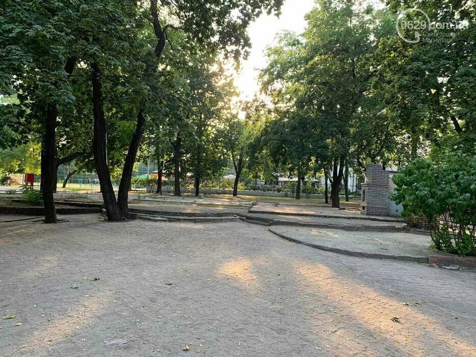 В Городском саду в Мариуполе выставили на продажу лакомый кусок земли, - ФОТО, фото-5