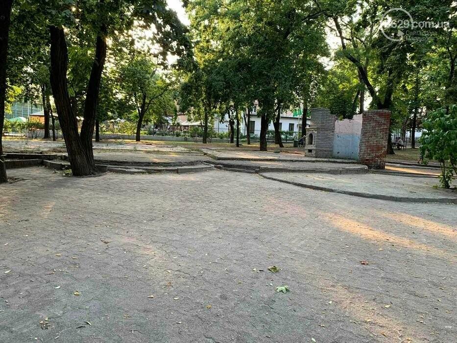 В Городском саду в Мариуполе выставили на продажу лакомый кусок земли, - ФОТО, фото-4