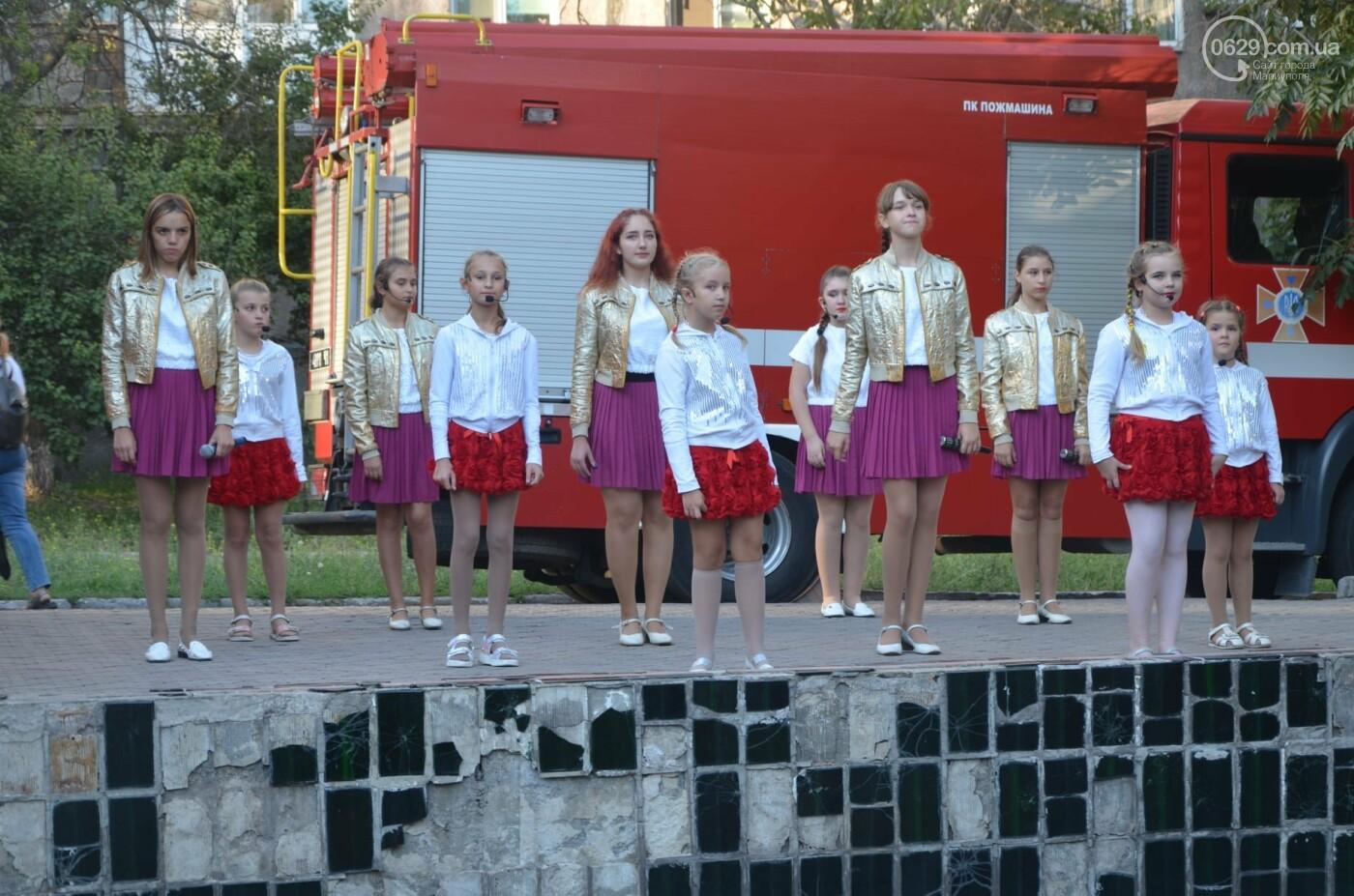 В Мариуполе отпраздновали День двора на пожарной машине, - ФОТО, фото-12