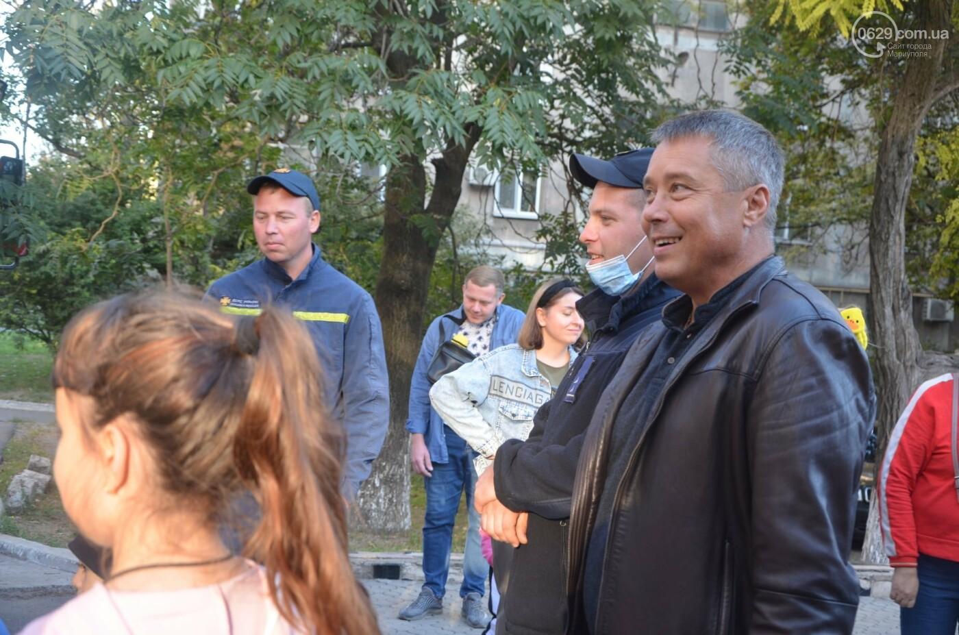 В Мариуполе отпраздновали День двора на пожарной машине, - ФОТО, фото-4