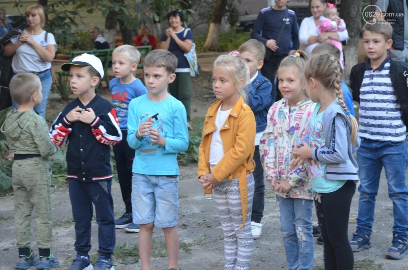 В Мариуполе отпраздновали День двора на пожарной машине, - ФОТО, фото-5