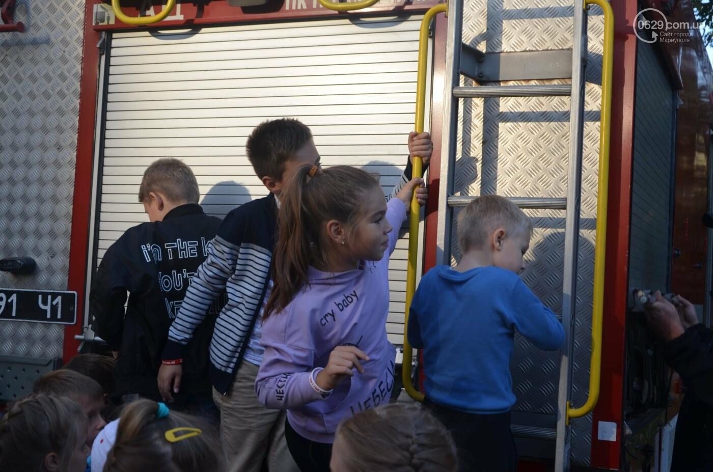 В Мариуполе отпраздновали День двора на пожарной машине, - ФОТО, фото-8