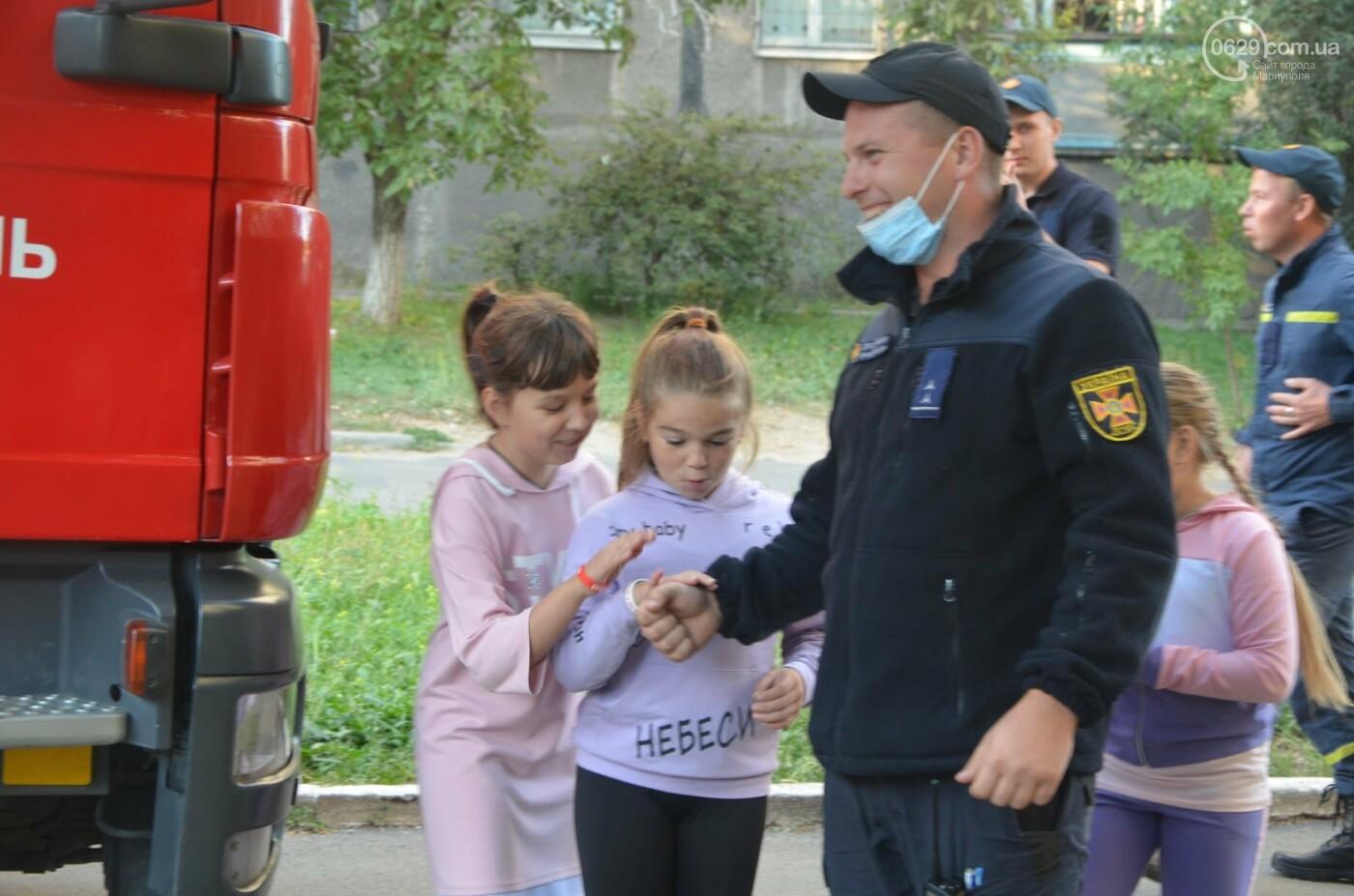В Мариуполе отпраздновали День двора на пожарной машине, - ФОТО, фото-10