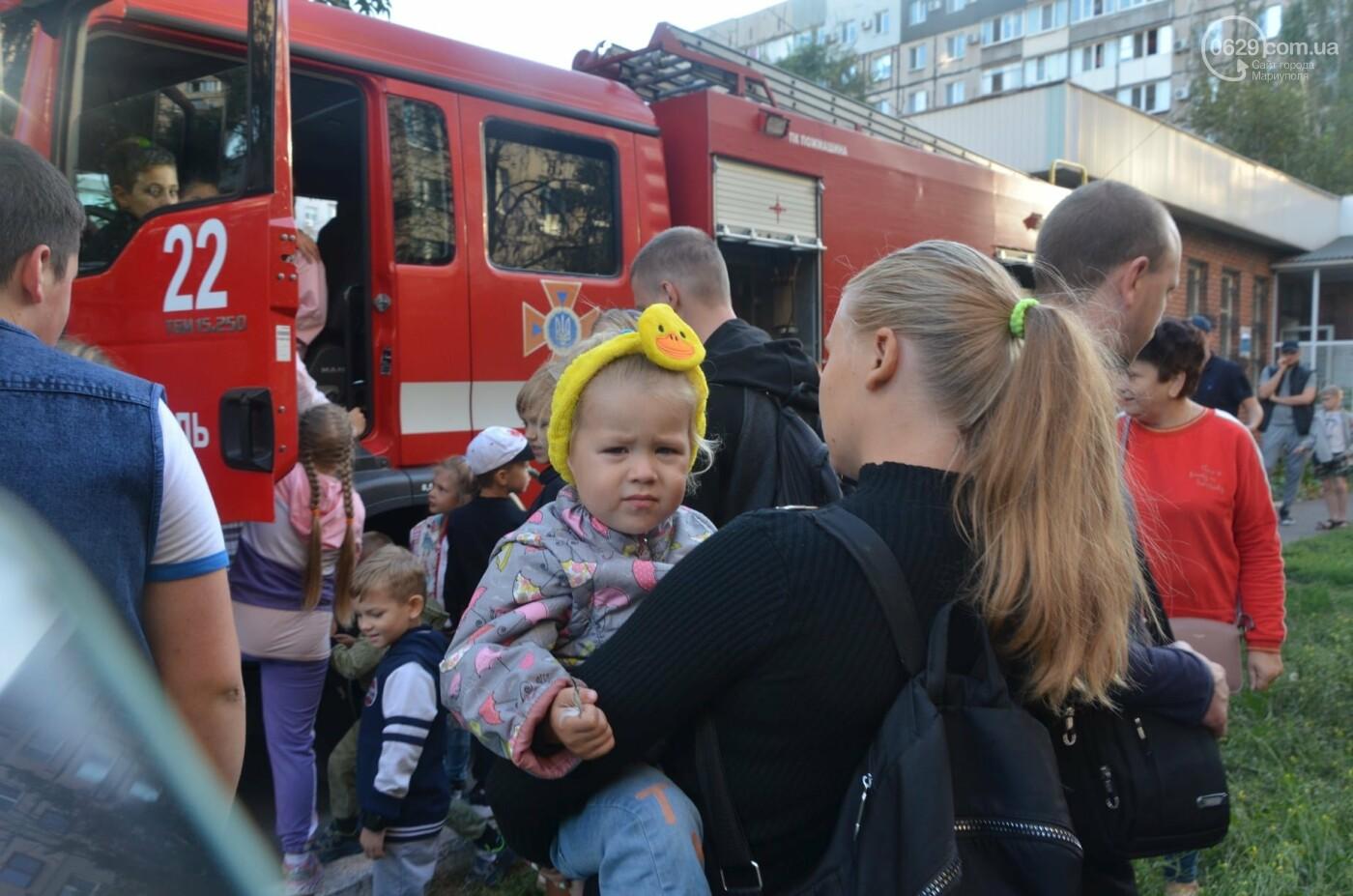 В Мариуполе отпраздновали День двора на пожарной машине, - ФОТО, фото-17