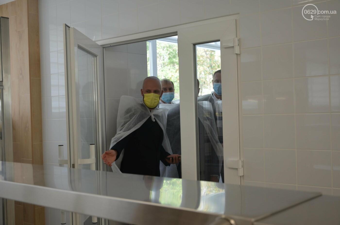 Министр образования пообедал в школьной столовой Мариуполя, - ФОТО, фото-4