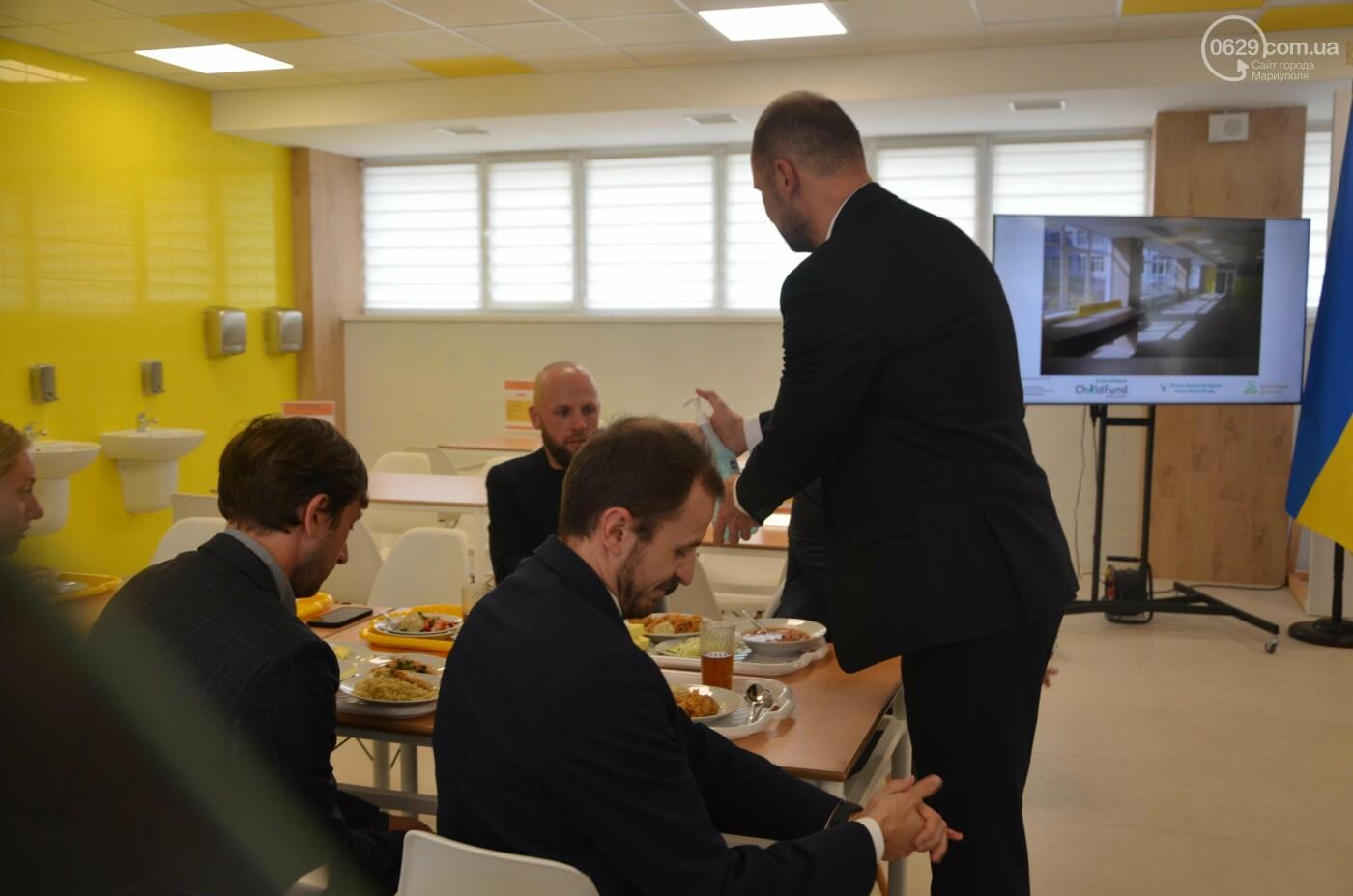 Министр образования пообедал в школьной столовой Мариуполя, - ФОТО, фото-19