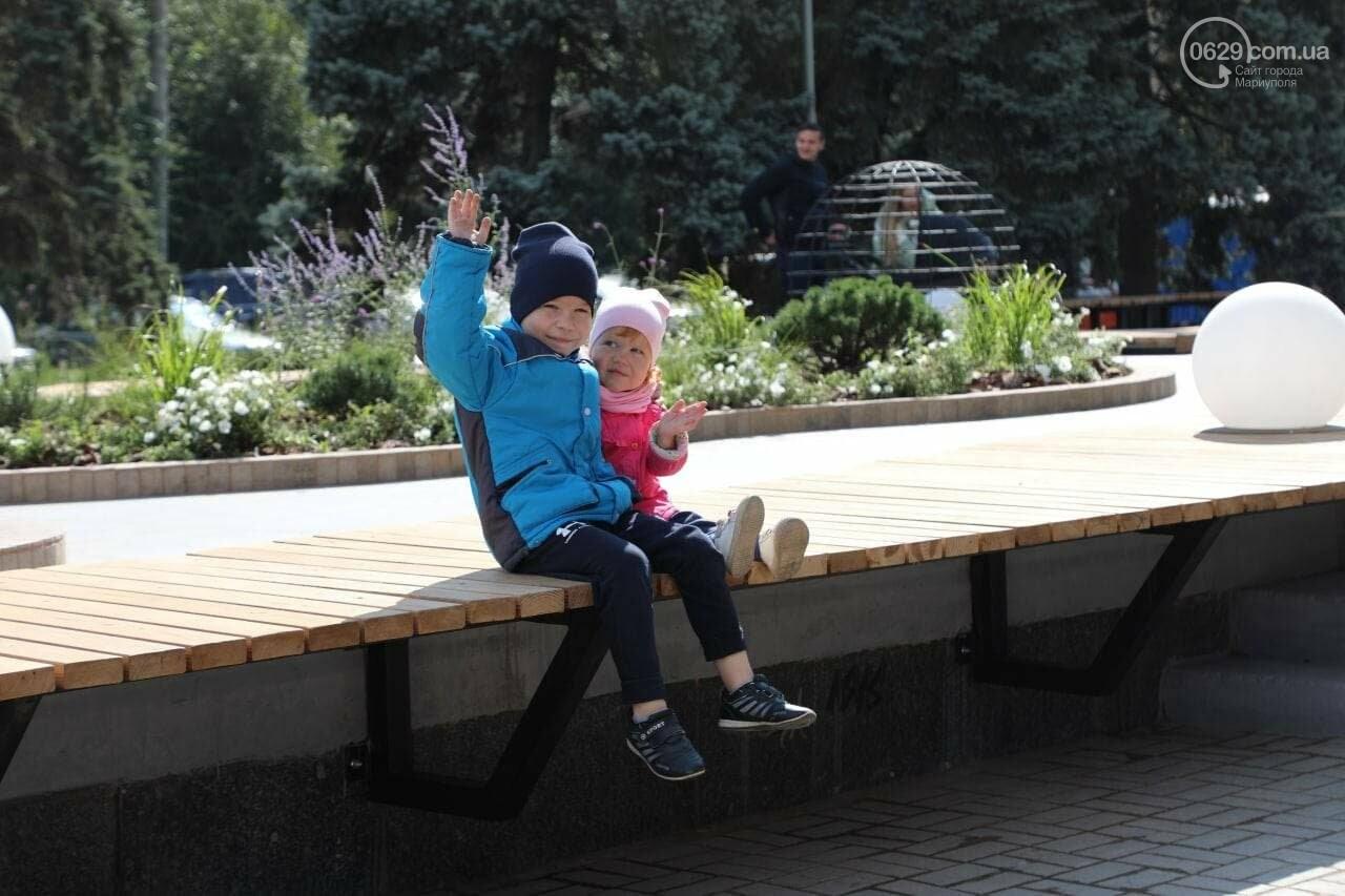 В Мариуполе на площади Победы вместо Ленина открыли место встреч, - ФОТОФАКТ, фото-3