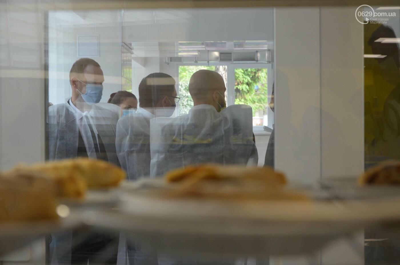 Министр образования пообедал в школьной столовой Мариуполя, - ФОТО, фото-3