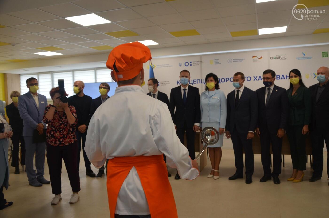 Министр образования пообедал в школьной столовой Мариуполя, - ФОТО, фото-14