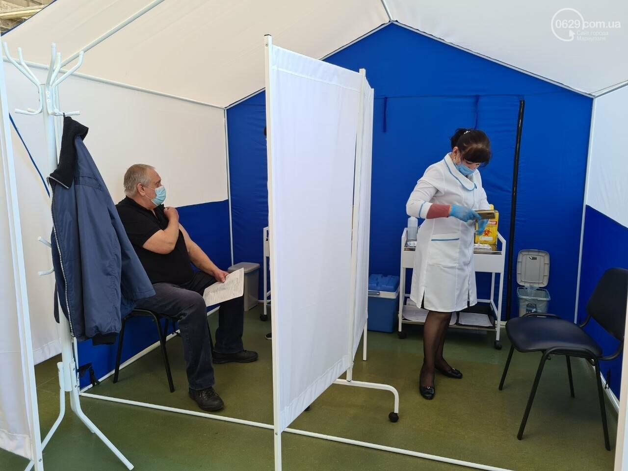 Стало известно, сколько вакцинированных мариупольцев заболели коронавирусом, - ФОТО, фото-1