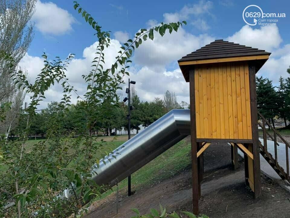 В Мариуполе в парке Гурова на детской площадке травмировался ребенок, - ФОТО, фото-4