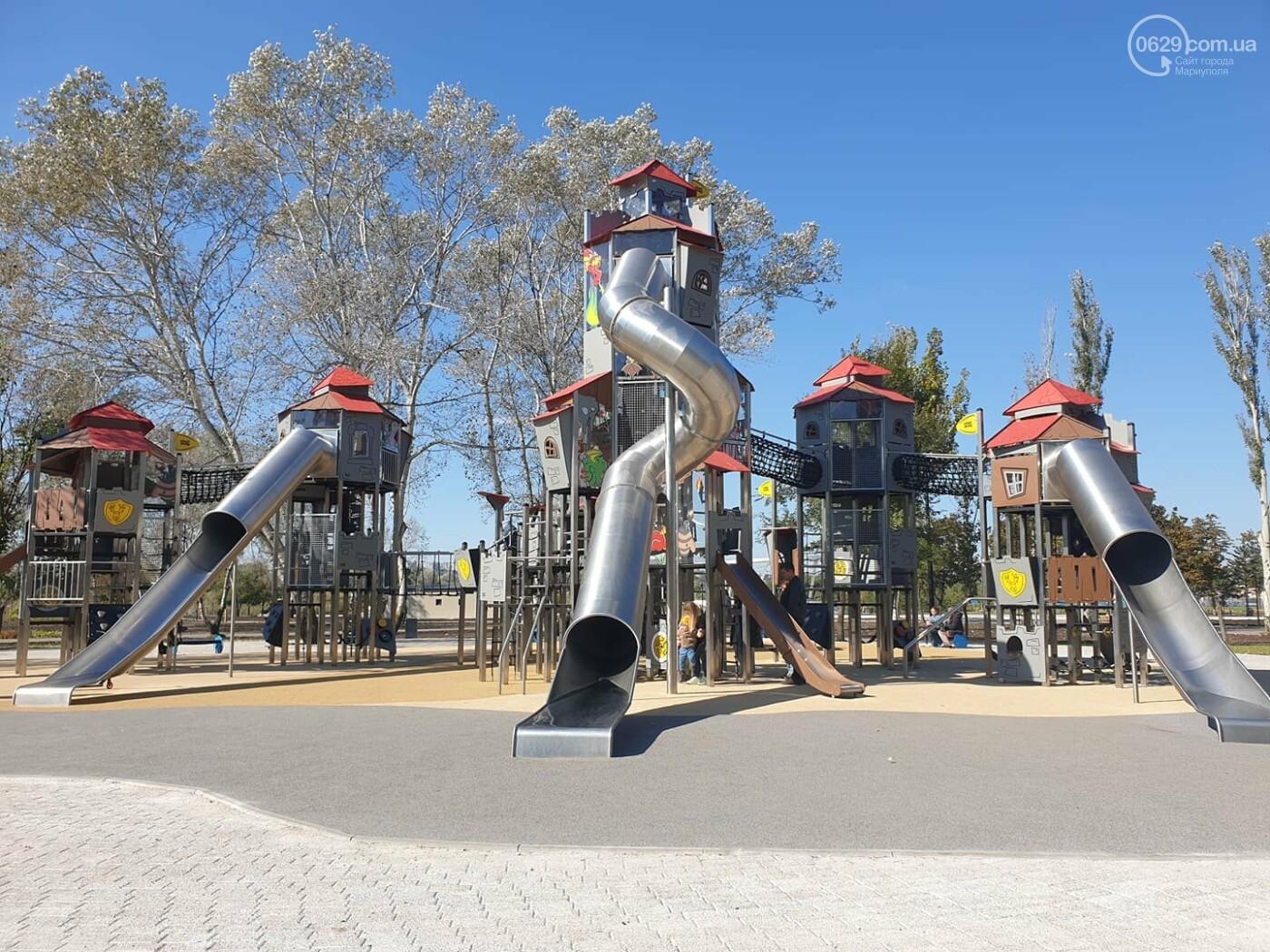 В Мариуполе в парке Гурова на детской площадке травмировался ребенок, - ФОТО, фото-2