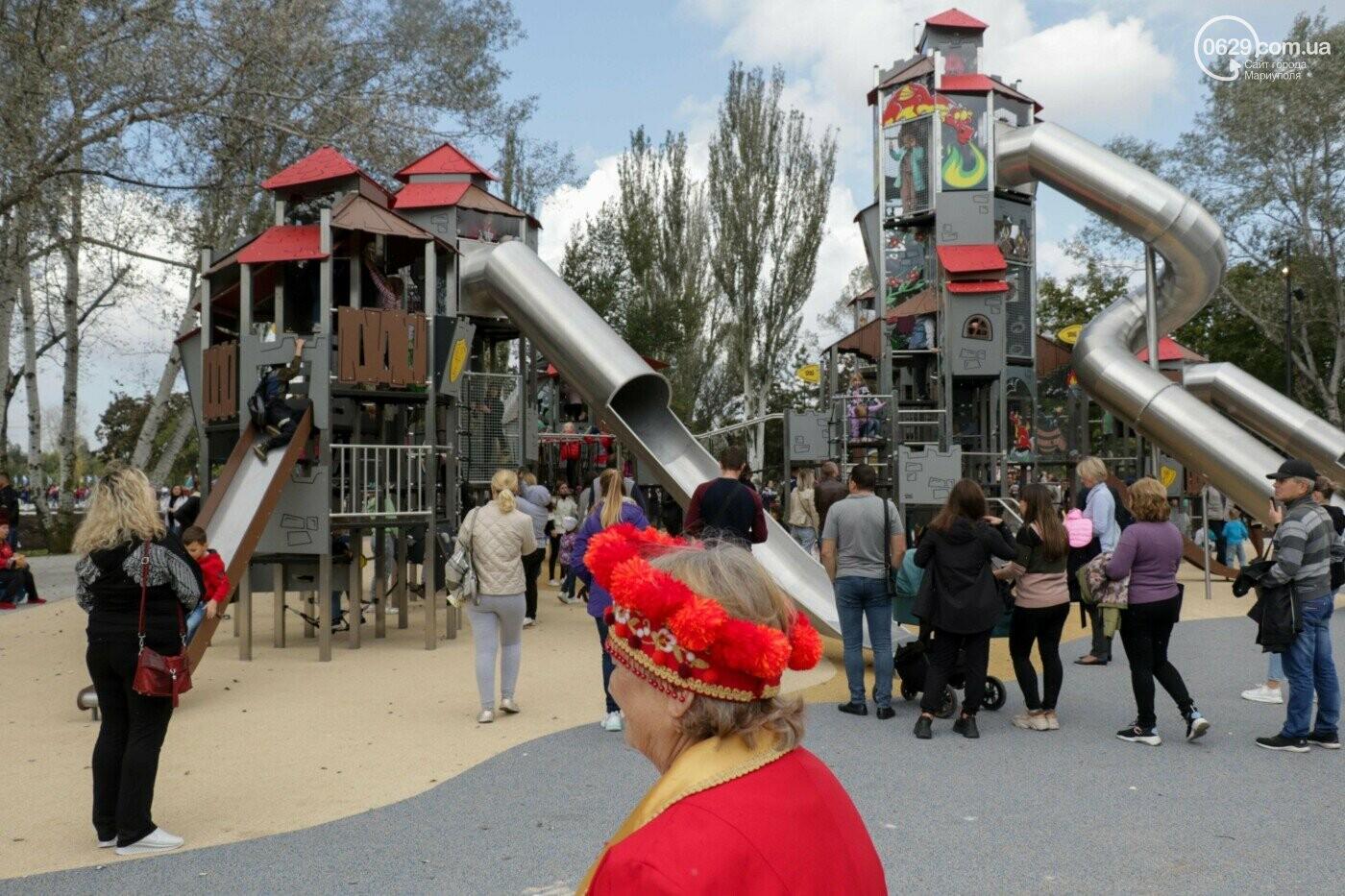 В Мариуполе в парке Гурова на детской площадке травмировался ребенок, - ФОТО, фото-3