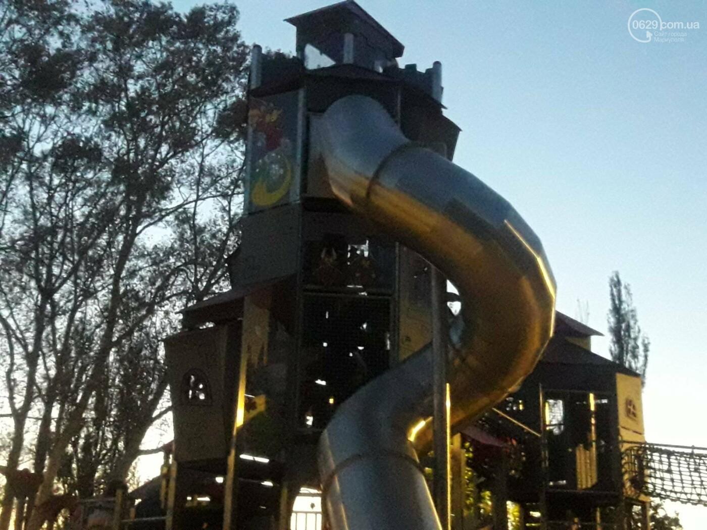 В Мариуполе в парке Гурова на детской площадке травмировался ребенок, - ФОТО, фото-9