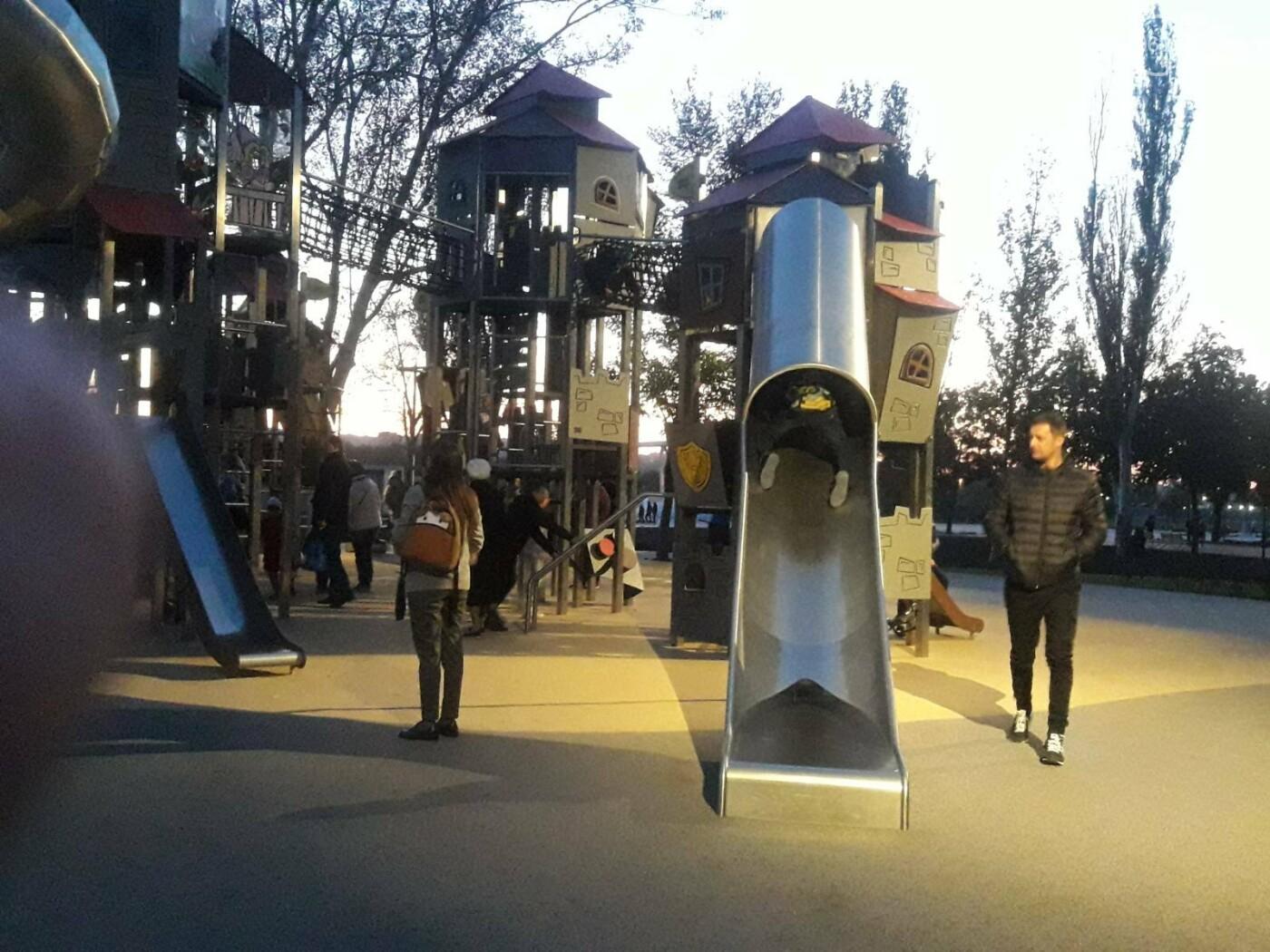 В Мариуполе в парке Гурова на детской площадке травмировался ребенок, - ФОТО, фото-5